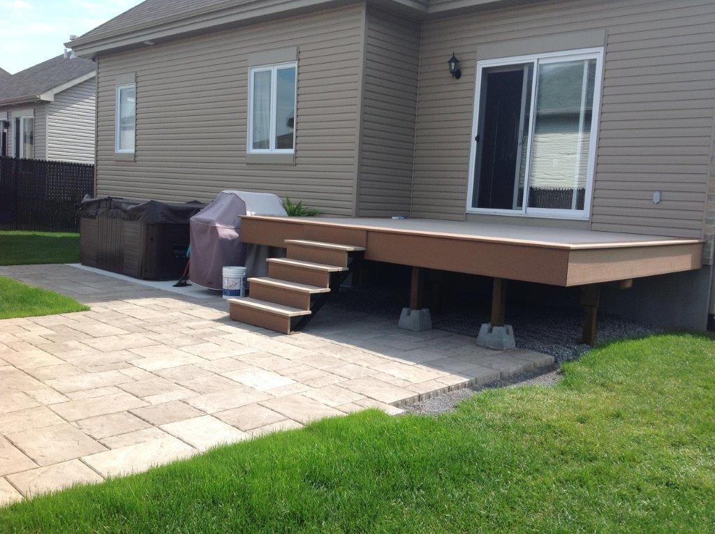 terrasses faciles d entretien en composite arga. Black Bedroom Furniture Sets. Home Design Ideas